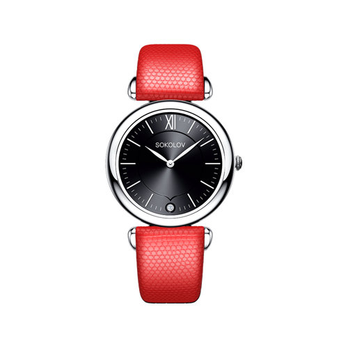 Женские серебряные часы (105.30.00.000.02.03.2) - фото №2