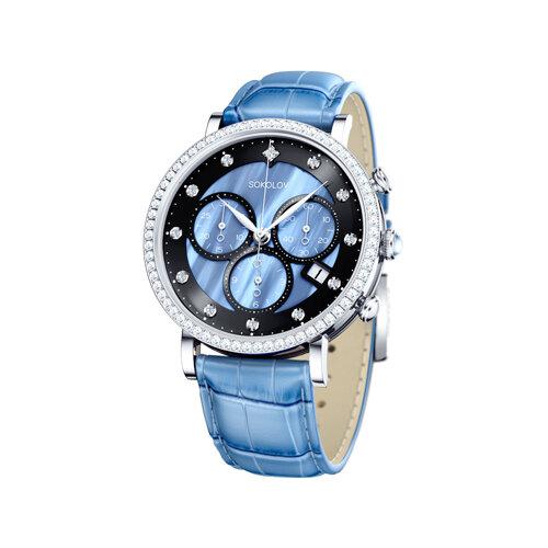 Женские серебряные часы (127.30.00.001.04.05.2) - фото