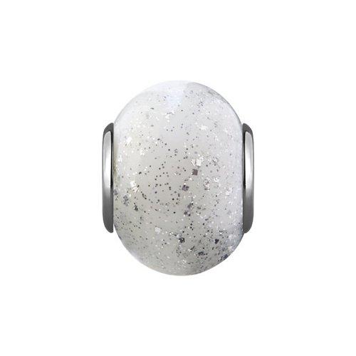 Подвеска-шарм из серебра с муранским стеклом cacharel золотые серьги с халцедонами и муранским стеклом xy305gmuv