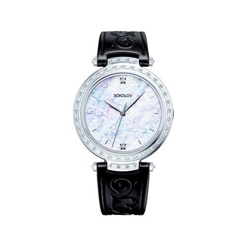 Женские серебряные часы (147.30.00.001.01.01.2) - фото №2