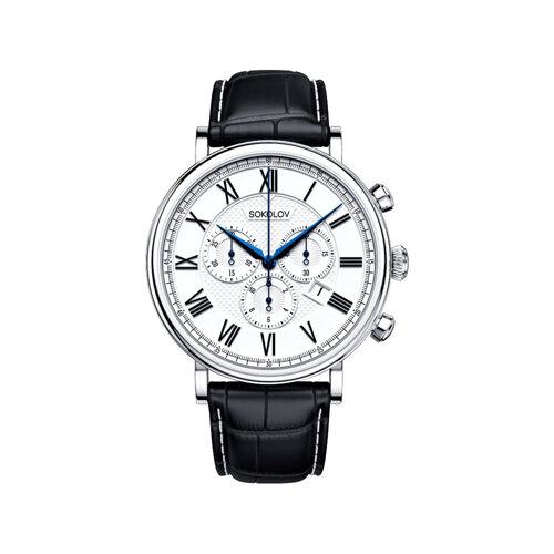 Мужские серебряные часы (125.30.00.000.01.01.3) - фото №2