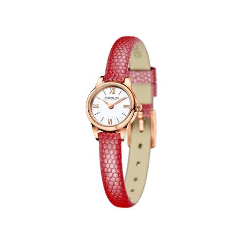 Женские золотые часы (211.01.00.000.01.04.3) - фото