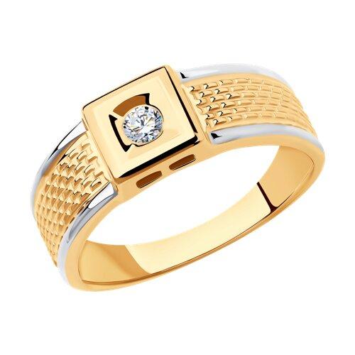 Кольцо из золота 018384 SOKOLOV фото