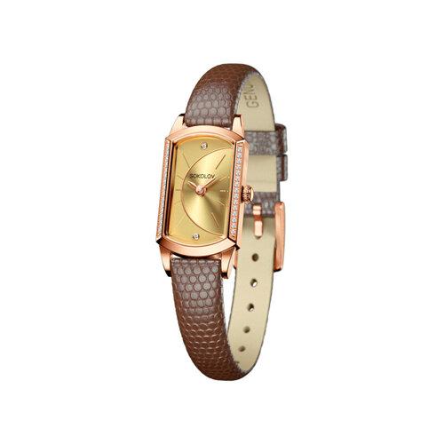 Женские золотые часы (222.01.00.100.05.03.3) - фото