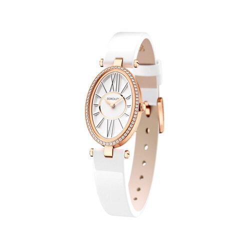 Женские золотые часы (236.01.00.001.01.05.2) - фото