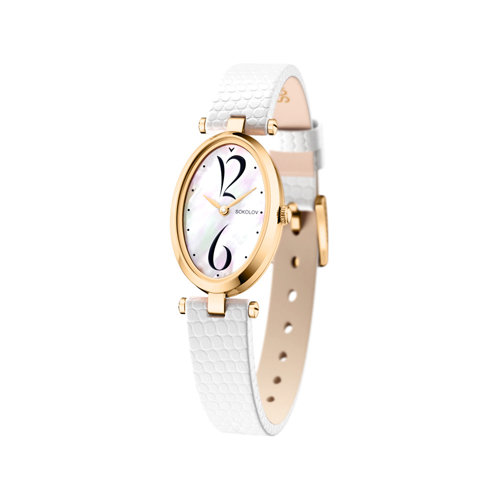 Женские золотые часы (235.02.00.000.05.02.2) - фото