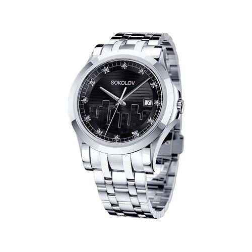 Женские стальные часы (303.71.00.000.02.01.2) - фото