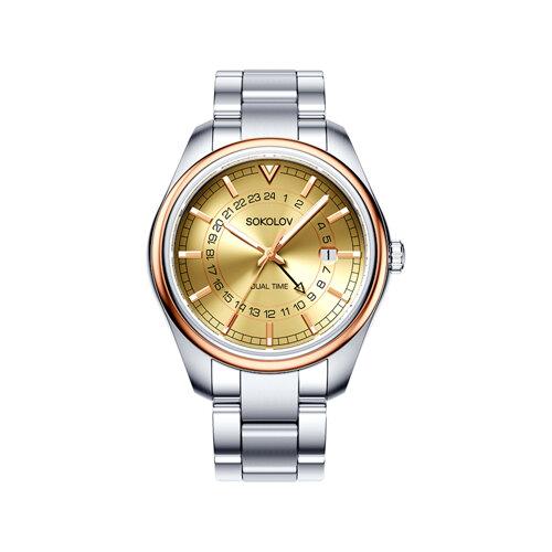 Мужские часы из золота и стали (157.01.71.000.02.01.3) - фото №2