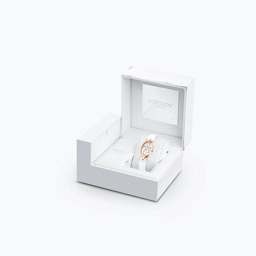 Женские золотые часы (235.01.00.000.03.05.2) - фото №4