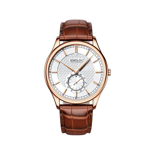 Мужские золотые часы (237.01.00.000.03.03.3) - фото №2