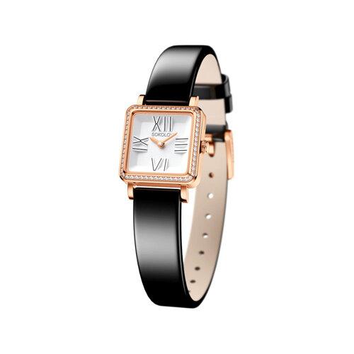 Женские золотые часы (232.01.00.001.01.04.2) - фото