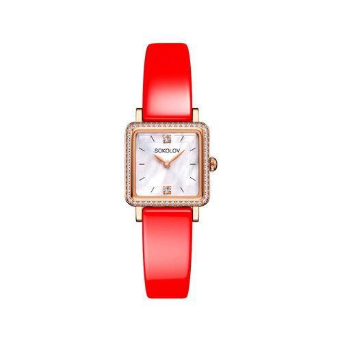 Женские золотые часы (232.01.00.100.05.06.2) - фото №2
