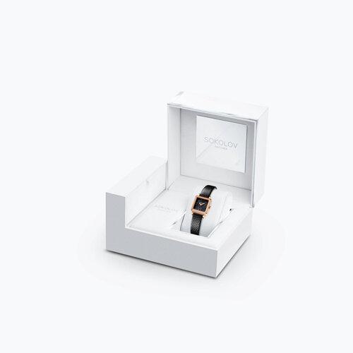 Женские золотые часы (232.01.00.001.02.01.2) - фото №4