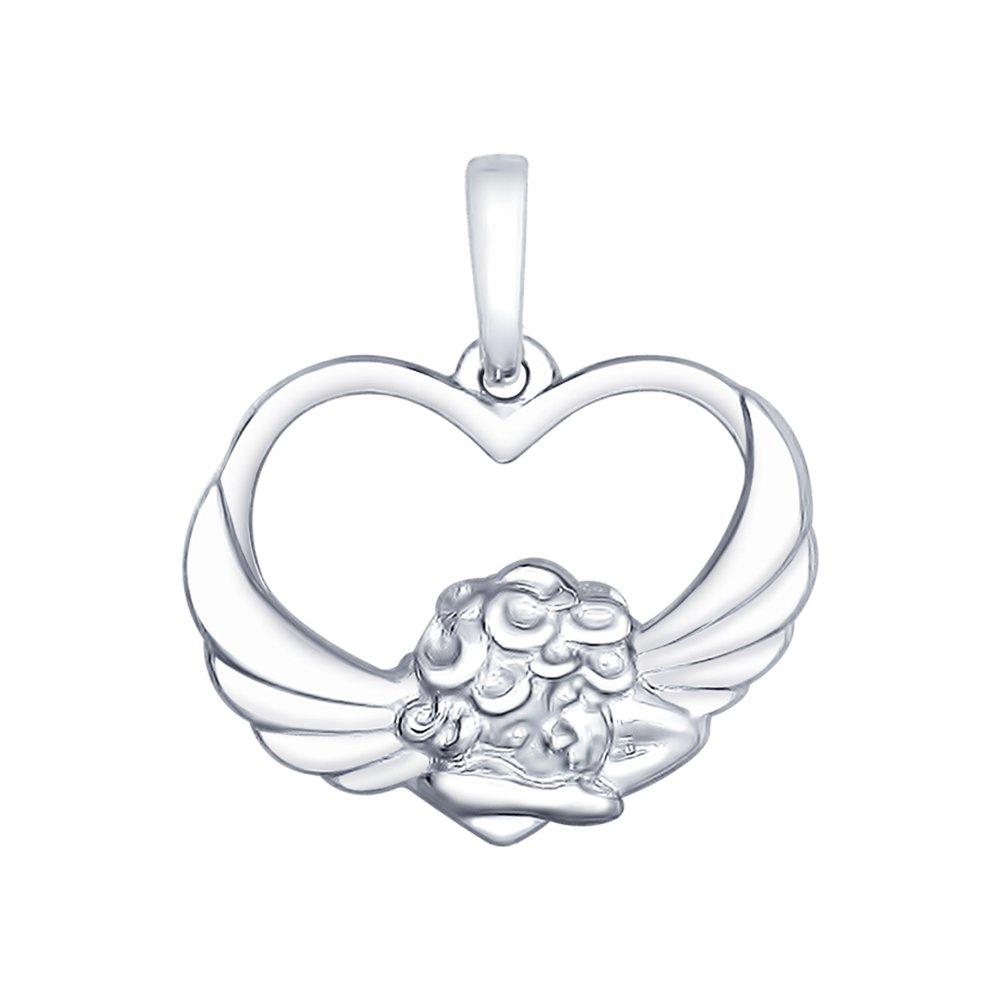 Подвеска SOKOLOV из серебра «Ангел»