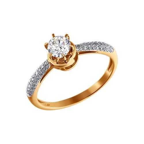 цена на Женское кольцо с бриллиантами и swarovski