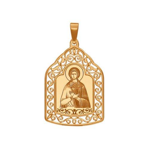 Нательная иконка «Святая мученица Любовь» SOKOLOV нательная иконка святая мученица нина
