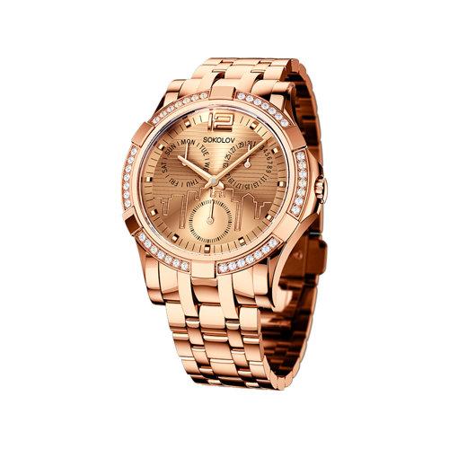 Женские стальные часы (305.73.00.001.05.02.2) - фото
