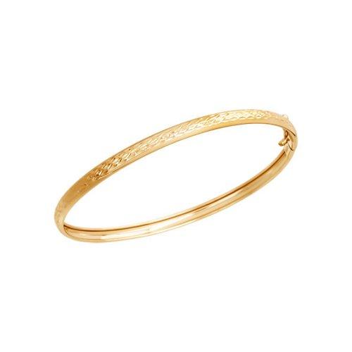 Жесткий браслет SOKOLOV из золота 585 пробы