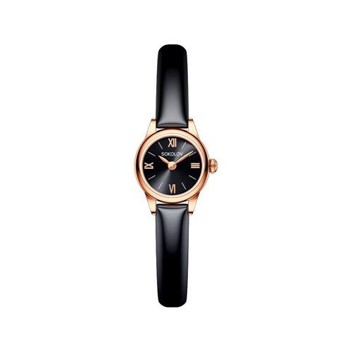 Женские золотые часы (211.01.00.000.03.05.3) - фото №2