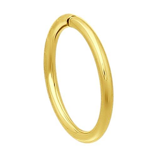 Серьга из желтого золота (170001-2) - фото
