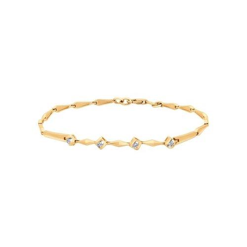 Браслет из золота с бриллиантами