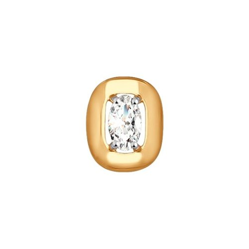 Подвеска из золота со Swarovski Zirconia