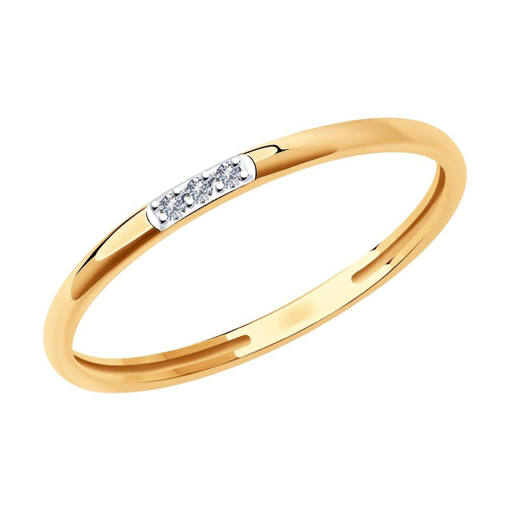 Кольцо SKLV из золота