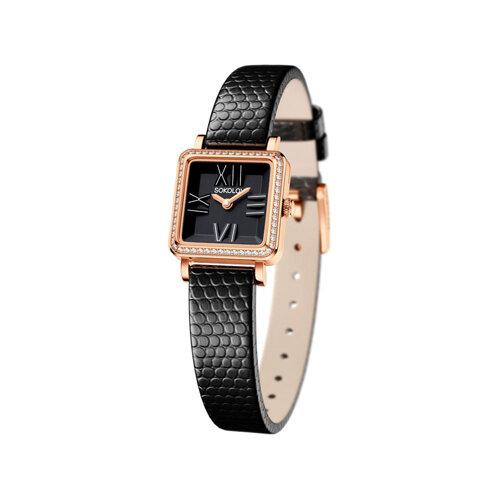 Женские золотые часы (232.01.00.001.02.01.2) - фото