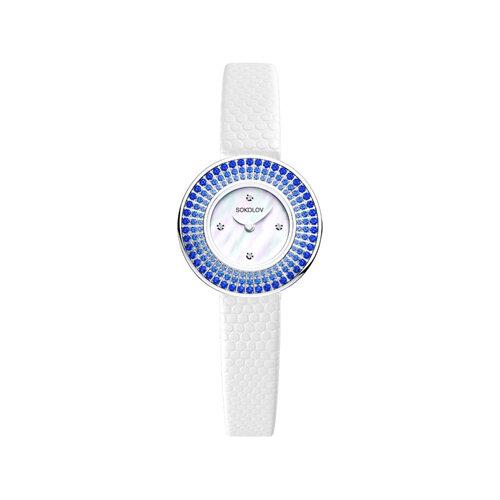 Женские серебряные часы (128.30.00.007.01.01.2) - фото №2