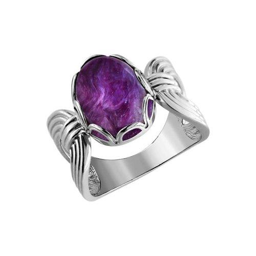 Кольцо SOKOLOV из серебра с белым лунным камнем