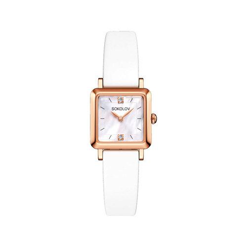 Женские золотые часы (231.01.00.000.05.05.2) - фото №2
