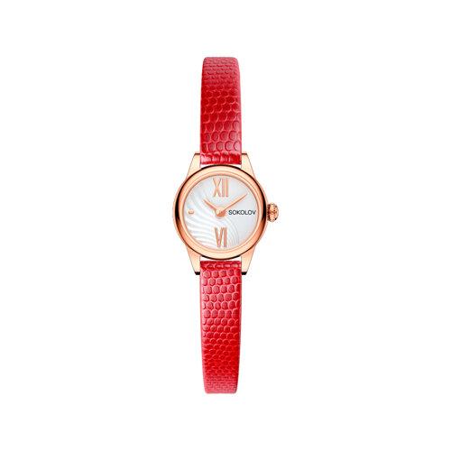 Женские золотые часы (211.01.00.000.04.04.3) - фото №2