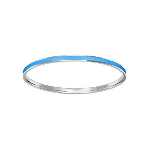 Серебряный браслет с голубой эмалью SOKOLOV все цены
