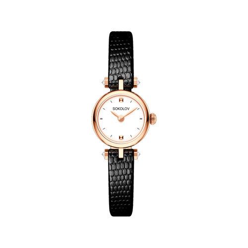 Женские золотые часы (215.01.00.000.01.01.2) - фото №2