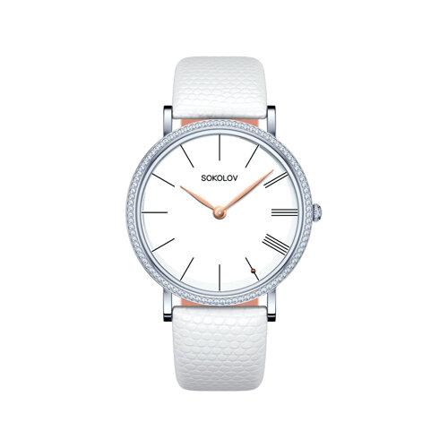 Женские серебряные часы (153.30.00.001.01.02.2) - фото №2