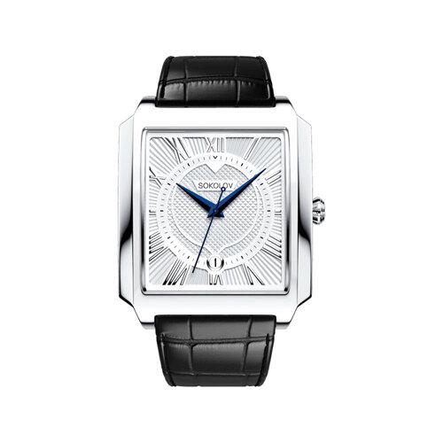 Мужские серебряные часы (134.30.00.000.01.01.3) - фото №2