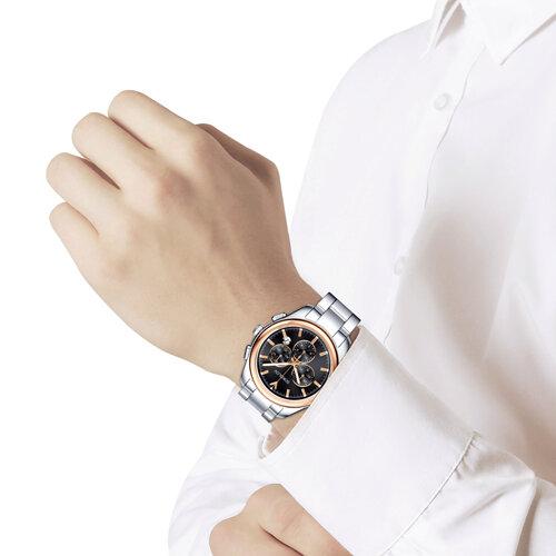 Мужские часы из золота и стали (139.01.71.000.03.01.3) - фото №3