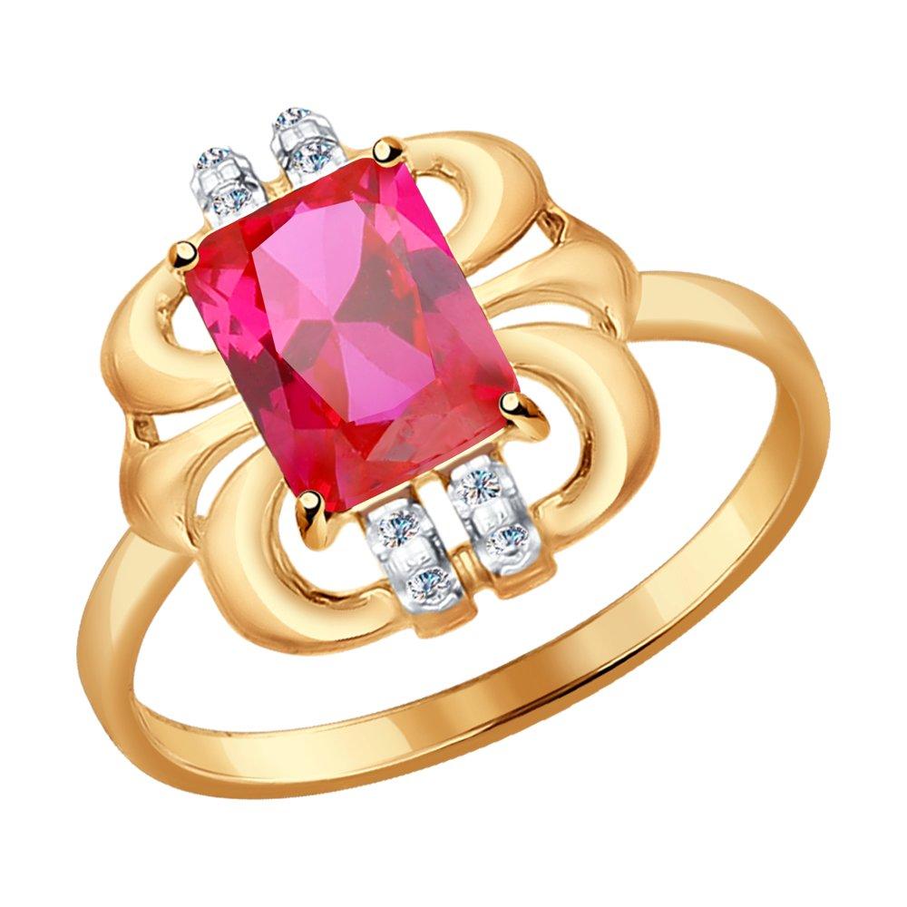 Кольцо SOKOLOV из золота ювелирное кольцо sokolov
