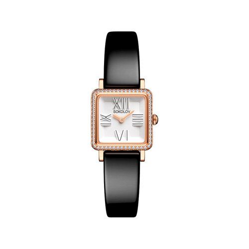 Женские золотые часы (232.01.00.001.01.04.2) - фото №2