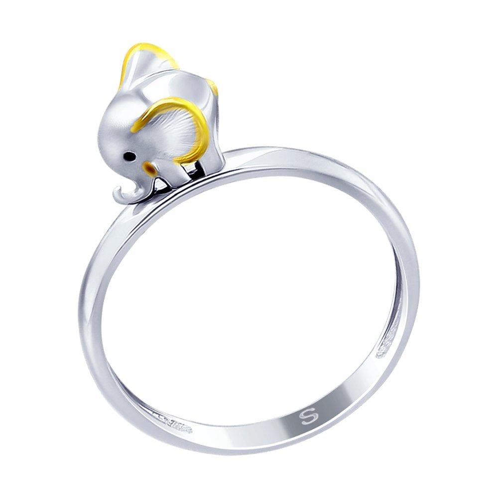 Кольцо SOKOLOV из серебра «Слонёнок»