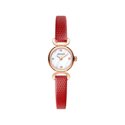 Женские золотые часы (212.01.00.000.01.04.3) - фото №2