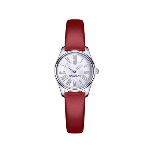 Женские серебряные часы (155.30.00.000.01.03.2) - фото №2