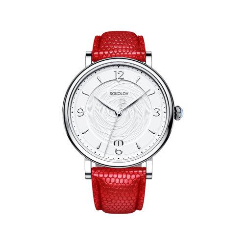 Женские серебряные часы (103.30.00.000.03.03.2) - фото №2