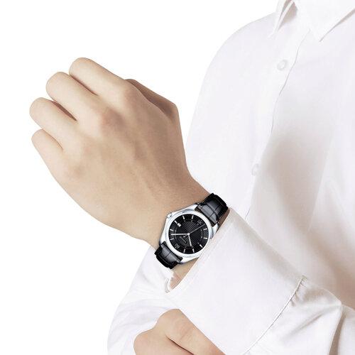 Мужские серебряные часы (135.30.00.000.06.01.3) - фото №3