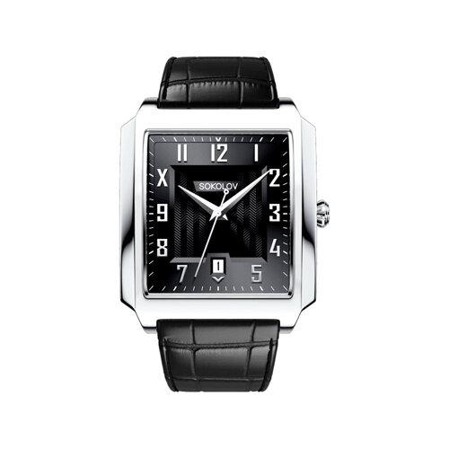 Мужские серебряные часы (134.30.00.000.05.01.3) - фото №2