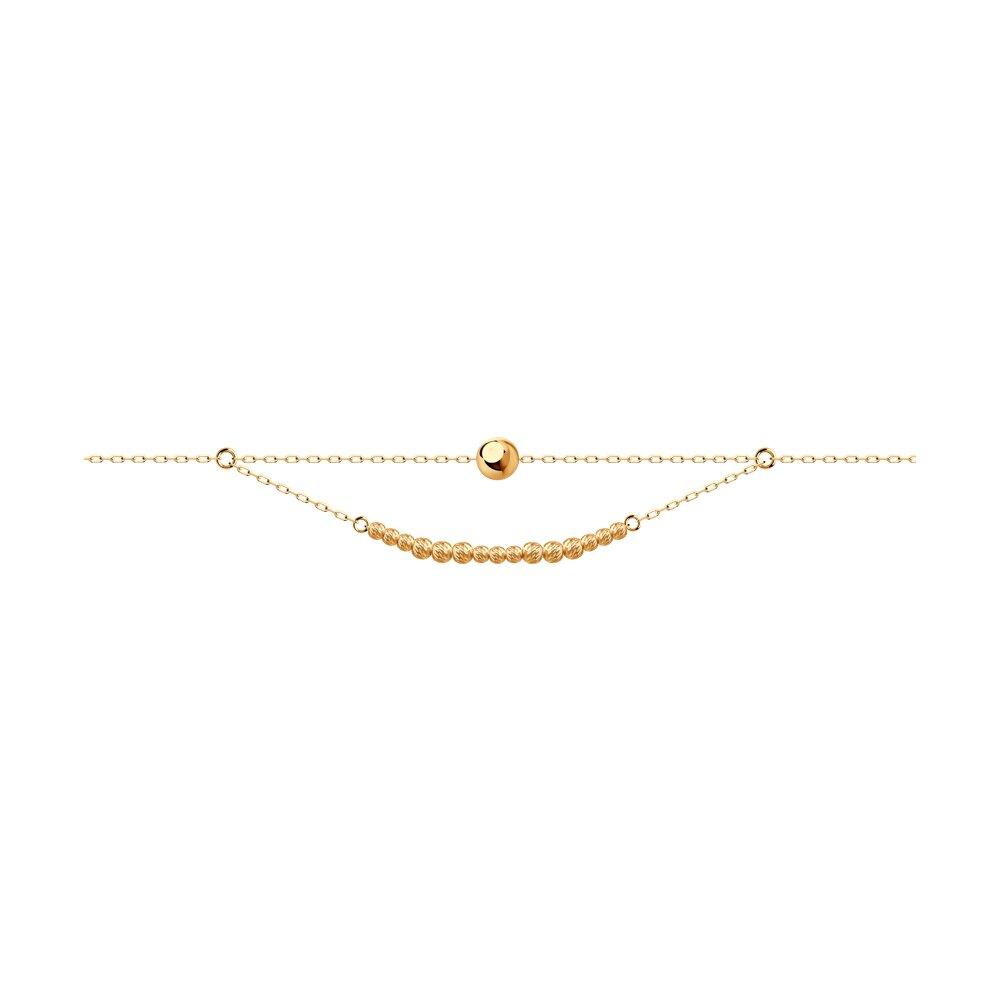 Фото - Браслет Diamant из золота браслет декоративный из золота 050369