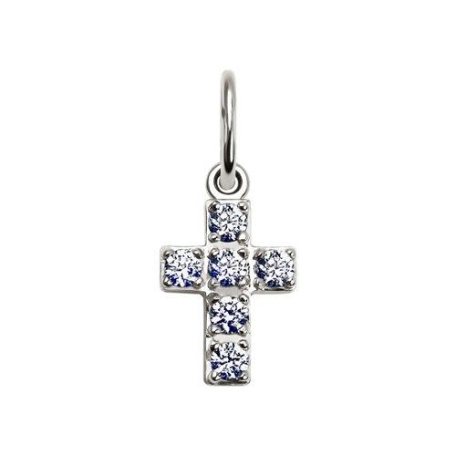 Фото - Декоративный крест SOKOLOV из белого золота браслет декоративный из золота 050369