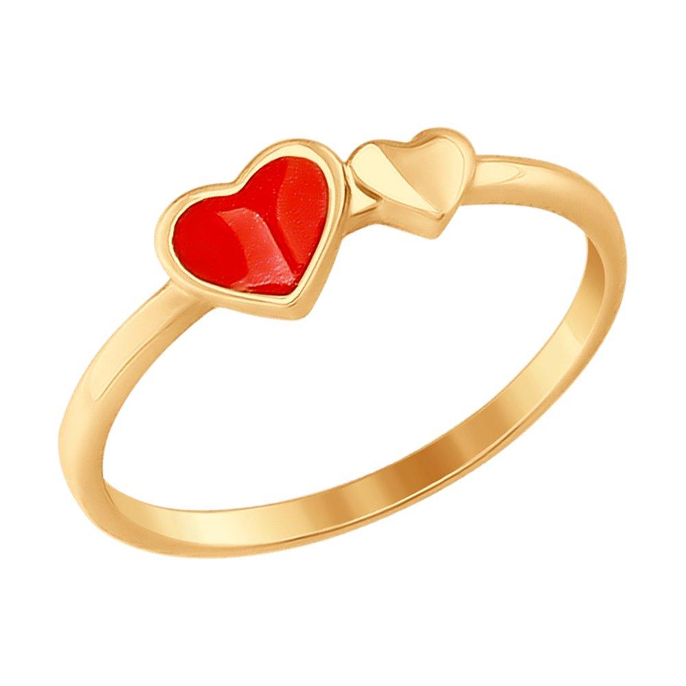 Кольцо «Сердце» SOKOLOV
