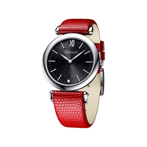 Женские серебряные часы (105.30.00.000.02.03.2) - фото