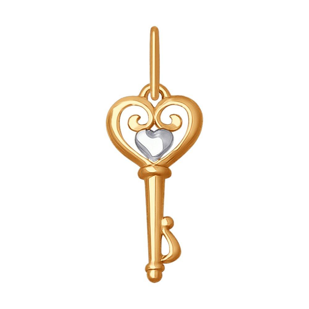Подвеска «Ключик» SOKOLOV из золота